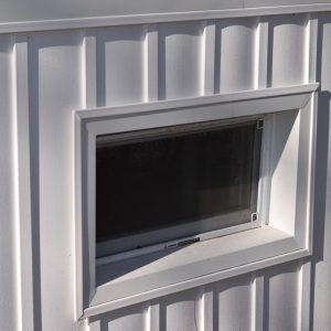 Custom window wraps on siding