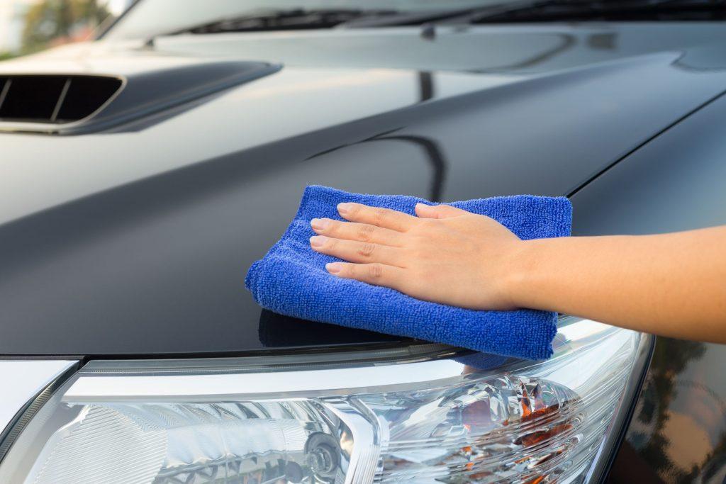 Microfiber Washing Car